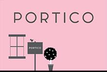 Portico, Bloomsbury