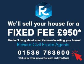 Get brand editions for Richard Civil Estate Agents, Desborough