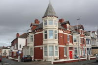 Studio flat in Lord Street, Blackpool...