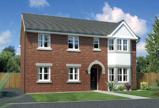 4 bedroom detached house for sale in upton merseyside for Upton builders