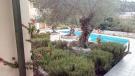 Looking onto pool