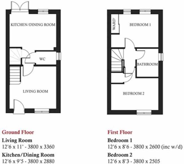 Belgrave floorplan