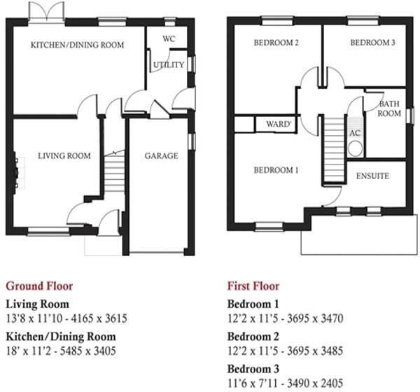 Earlsdale floorplan