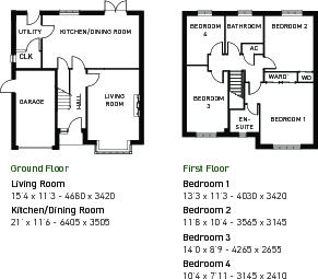 Grasmere floorplan