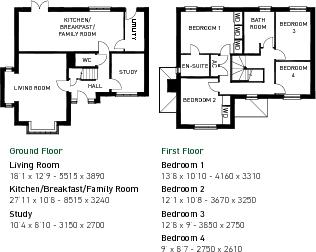 Cardington floorplan