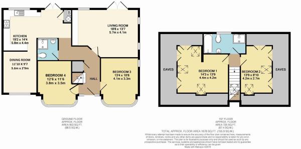 Potential floorplan