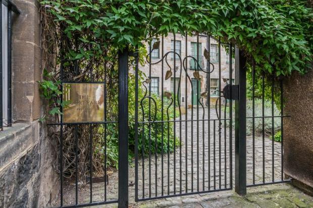Courtyard Entr...