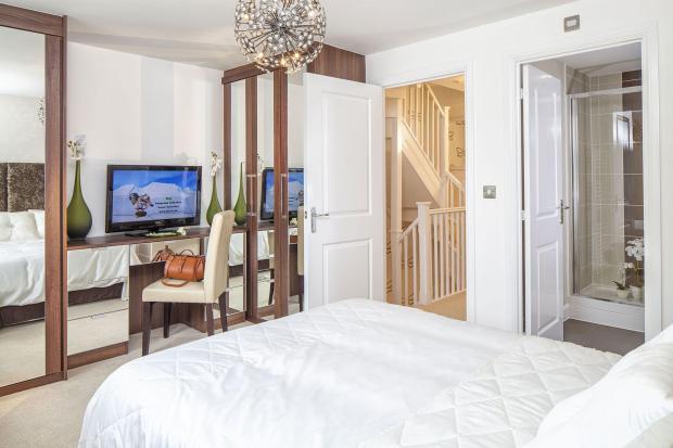 Typical Faversham master bedroom