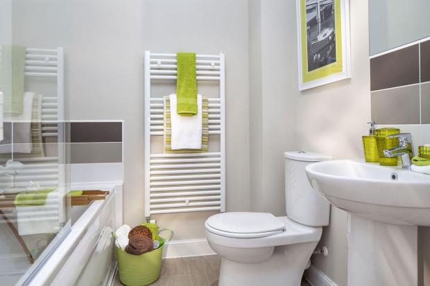 Typical Faversham bathroom