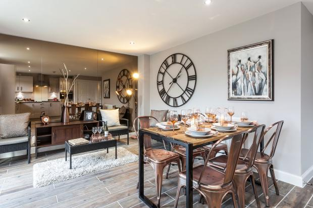 Typical Chesham dining area