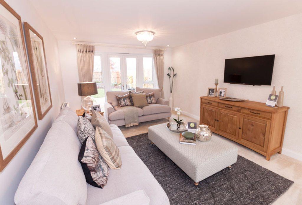 Alnwick Show Home lounge