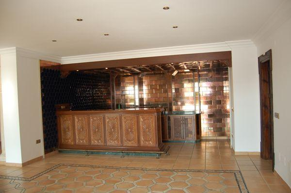 Downstairs Bar Area