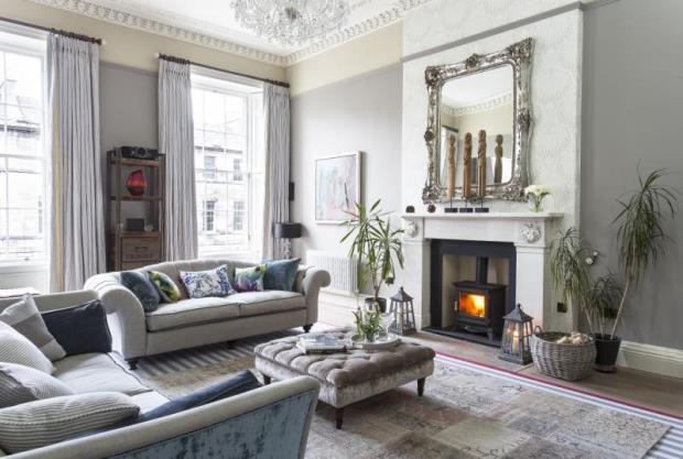 5 bedroom terraced house for sale in great king street for Interior design edinburgh