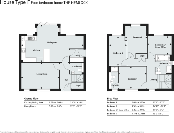 Hemlock Floor Plan