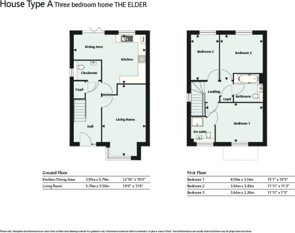 Elder floor plans
