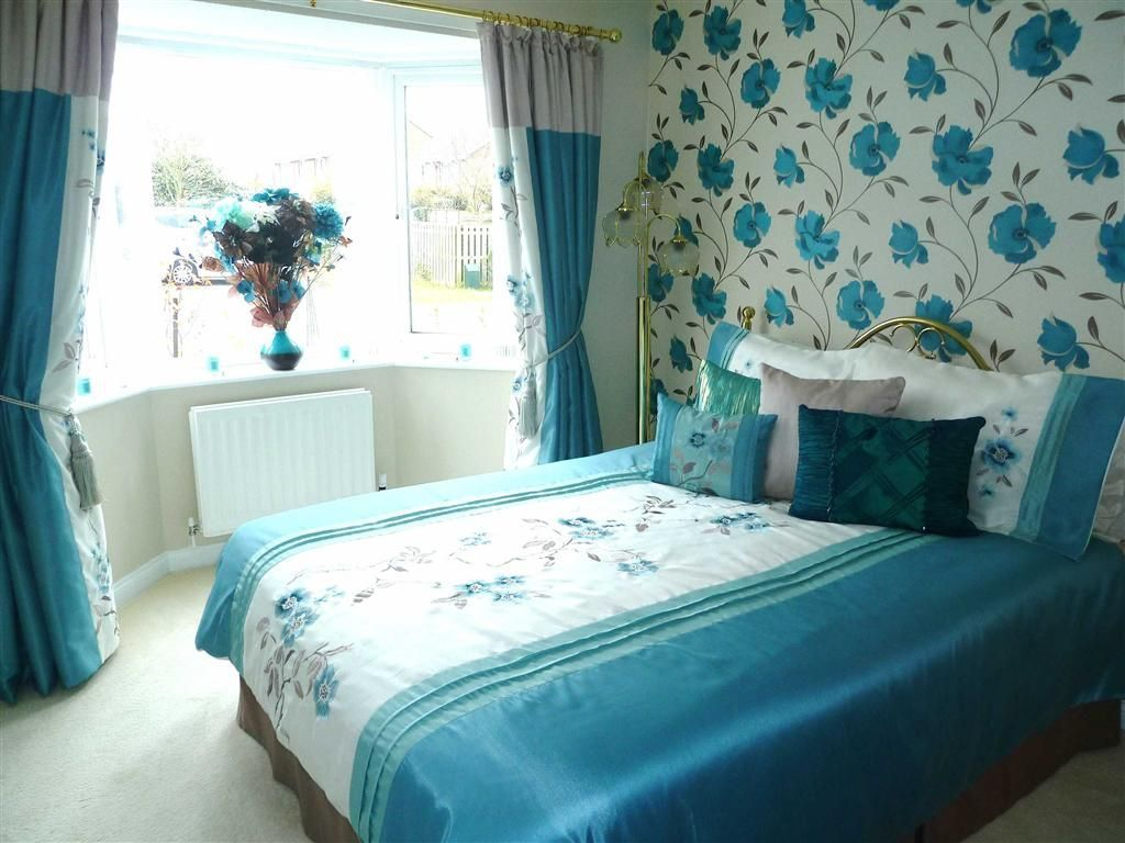 3 bedroom detached bungalow for sale in athelhampton teal for Bedroom wallpaper sale
