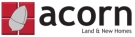 Acorn, Land & New Homes branch logo