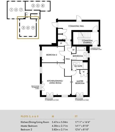 Plot 3 - Rayleigh House, Ground Floor