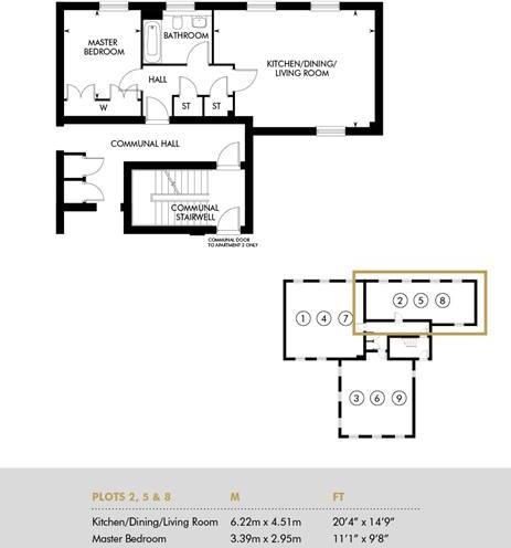 Plot 8 - Rayleigh House, Second Floor