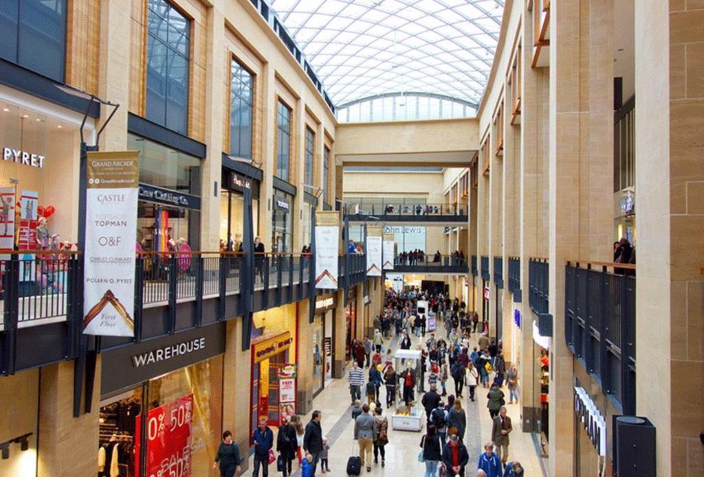 Cambridge Grande Arcade Shopping Centre