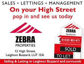 Get brand editions for Zebra Properties, Leighton Buzzard & Milton Keynes Lettings