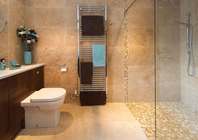 Brown marble bathroom design ideas photos inspiration for Brown and turquoise bathroom ideas