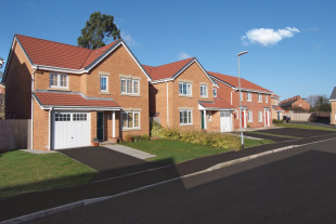 Saxon Village by Barratt Homes, Dysart Road,