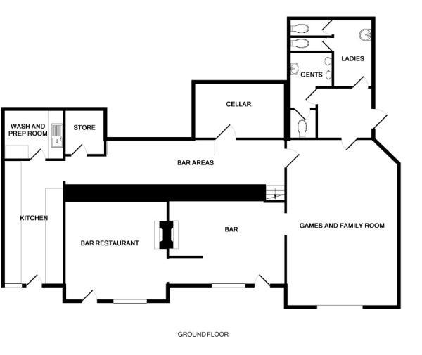 pub floor plan