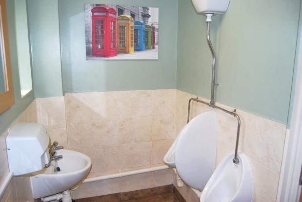 gentleman's toilets