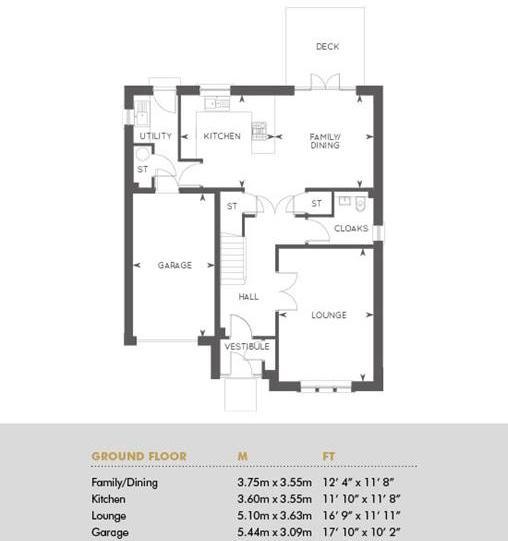 The Crichton, Floor 1