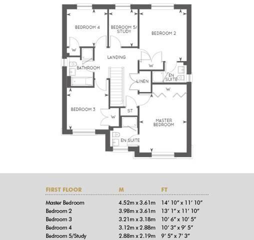 The Crichton, Floor 2