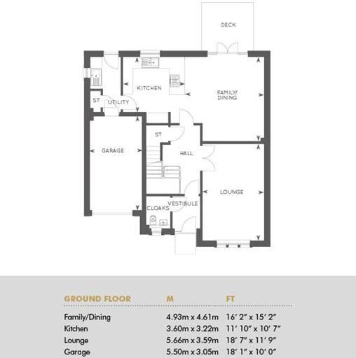 The Darroch, Floor 1