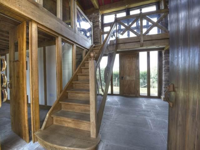 Entrance, Stairway, Landing