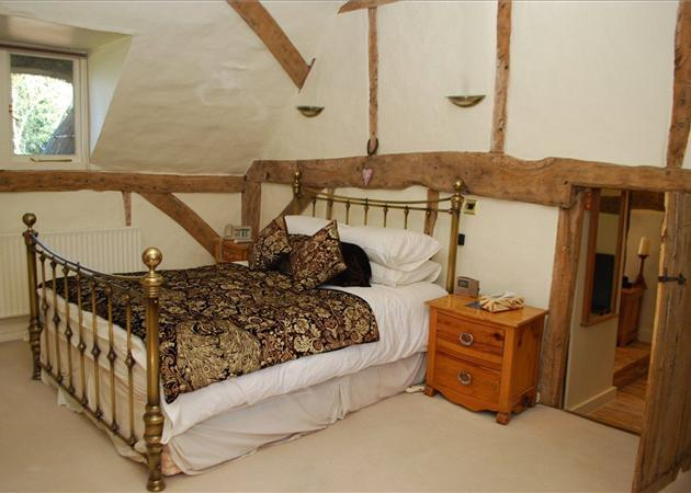 Vaulted Bedroom