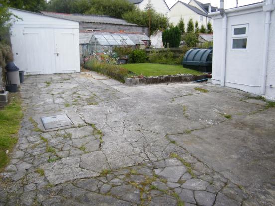 Rear Garden and Gara