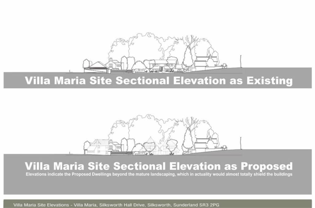 SITE ELEVATION VILLA