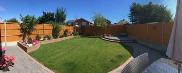 8 hillside garden