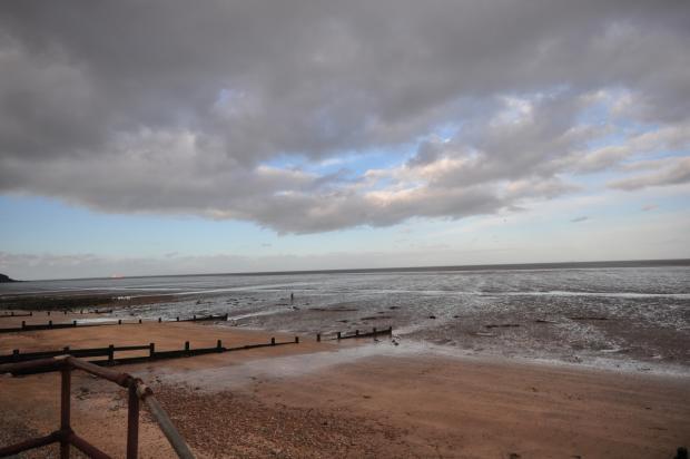 sheppy beach views