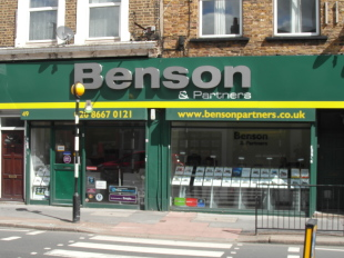 Benson & Partners, Croydonbranch details