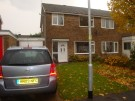 Wellington Close semi detached house for sale