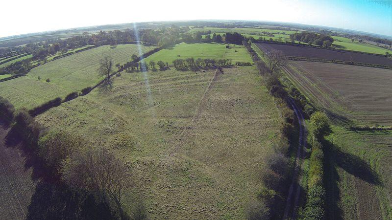 Aerial of land