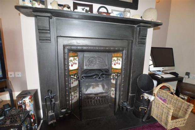 Feature fireplace