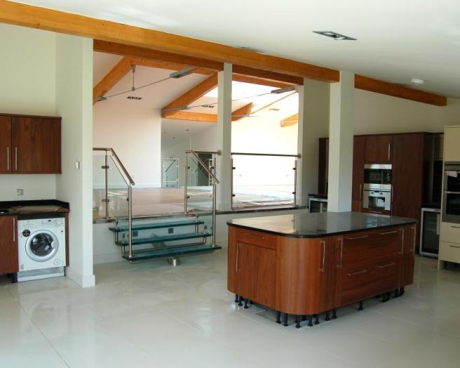smart placement split level kitchen island ideas house