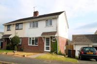 3 bed semi detached house in Ivybridge, Devon