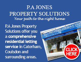 Get brand editions for P . A . Jones Property Solutions, Caterham, High Street