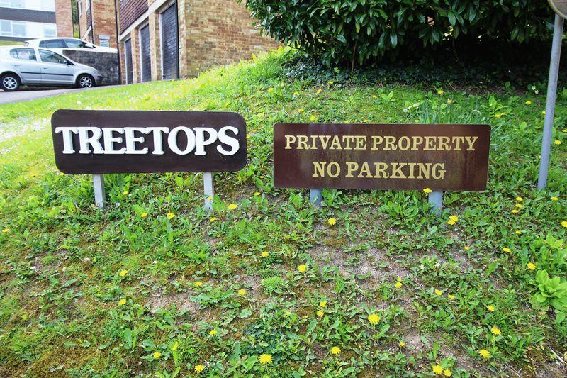 TREETOPS SIGN