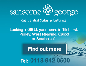 Get brand editions for Sansome & George Residential Sales Ltd, West Tilehurst