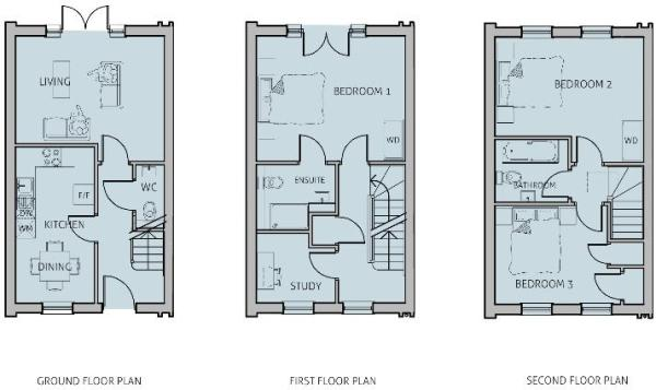 3 bedroom terraced house for sale in widmore road bromley Home layout planner
