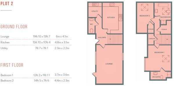 Plot 2 - Floorplan