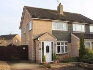 semi detached home in Stavanger Close, Corby...